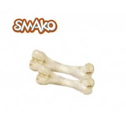 Kość szynkowa biała 1 szt folia MACED