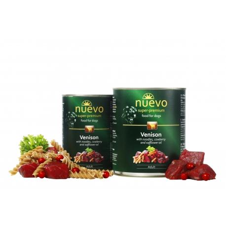 Nuevo 400 g dziczyzna dla psa dorosłego 65 % mięsa