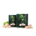 Nuevo 400 g kurczak dla psa dorosłego 73 % mięsa