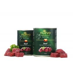 Nuevo 400 g wołowina dla psa dorosłego 73 % mięsa
