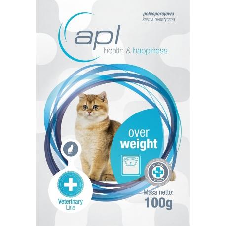 APL Overweight - karma weterynaryjna dla kota - saszetka 100 g