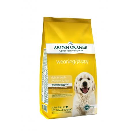 Arden Grange Weaning Puppy 6 kg karma dla suk w ciąży i szczeniąt