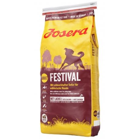 Josera Festival 3 x 15 kg + 15 kg gratis - karma dla psów dorosłych