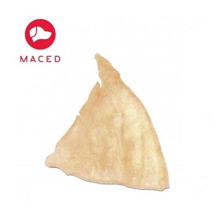 Ucho białe 1 szt. folia MACED