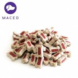 Mięsne kostki z łososiem 300 g MACED