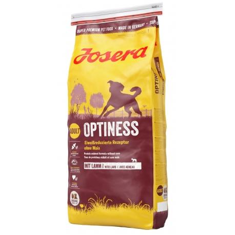 Josera Optiness 15 kg + miarka - karma z jagnięciną dla psów